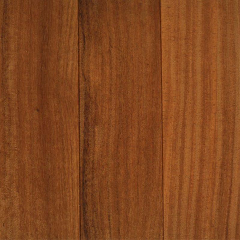 5″ x 3/4″ Brazilian Teak 1′-7′ Prefinished Flooring Espresso Matte