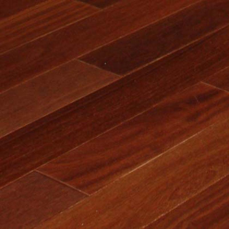 4″ Santos Mahogany 1'x7′ Unfinished Hardwood Flooring