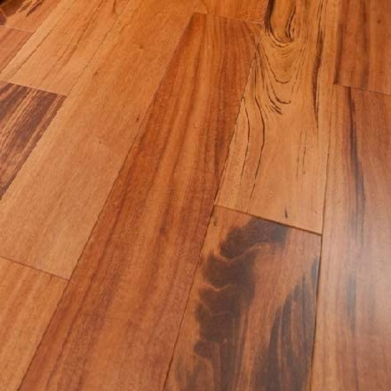 3 1/4″ x 3/4″ Tigerwood 1′-7′ Prefinished Flooring Natural