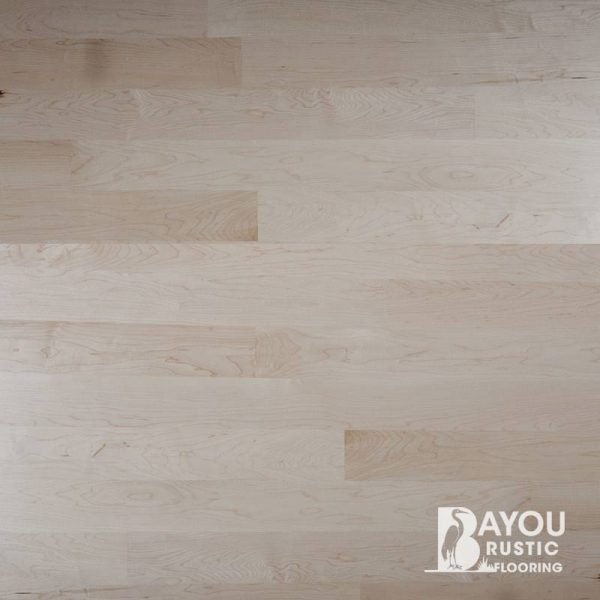 2 x 1/4″ Hard Maple 2′-10′ Unfinished Flooring (Select or Better)