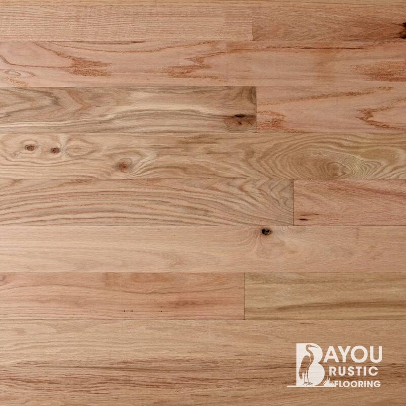 4″ Red Oak 1′-10′ Unfinished Flooring (#1 Common) Tongue & Groove