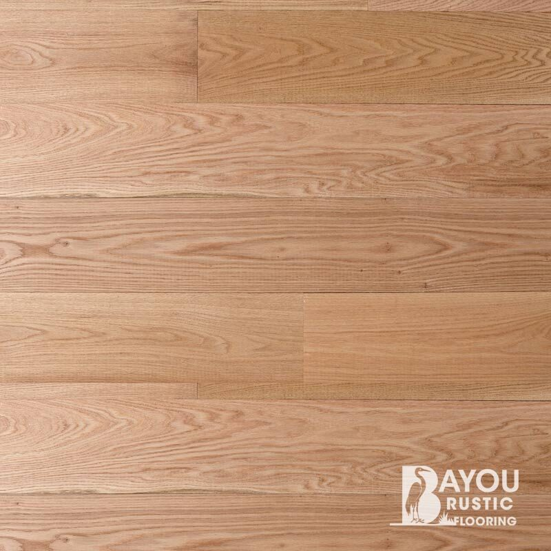 8″ Red Oak1′-10′ Unfinished Flooring (Second & Better) Tongue & Groove
