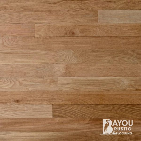 3″ White Oak 1′-10′ Unfinished Flooring (Select & Better) Tongue & Groove