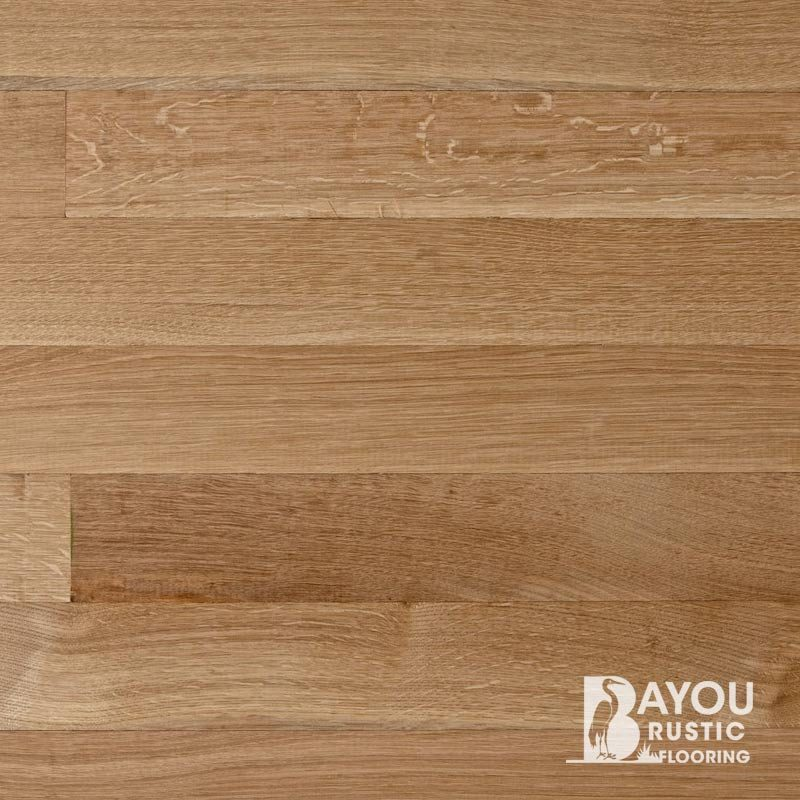 3 1/4″ White Oak 1′-10′ Unfinished (Select) Rift & Quartered