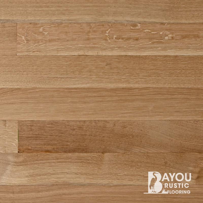 Unfinished White Oak Select Rift Quartered