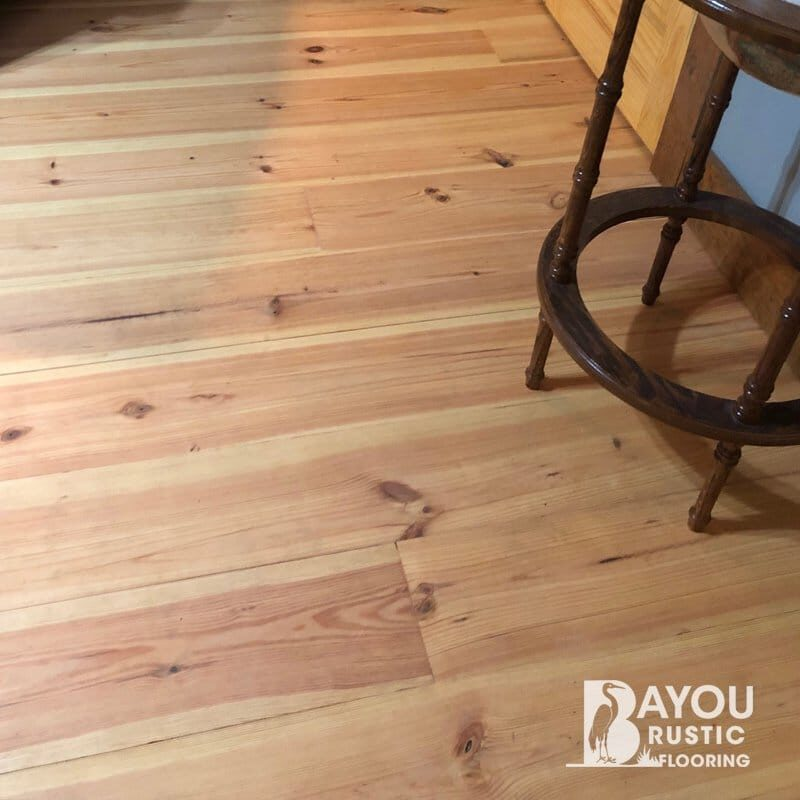 1×8″ New Heart Pine8-12′ Unfinished Flooring – #1 Grade