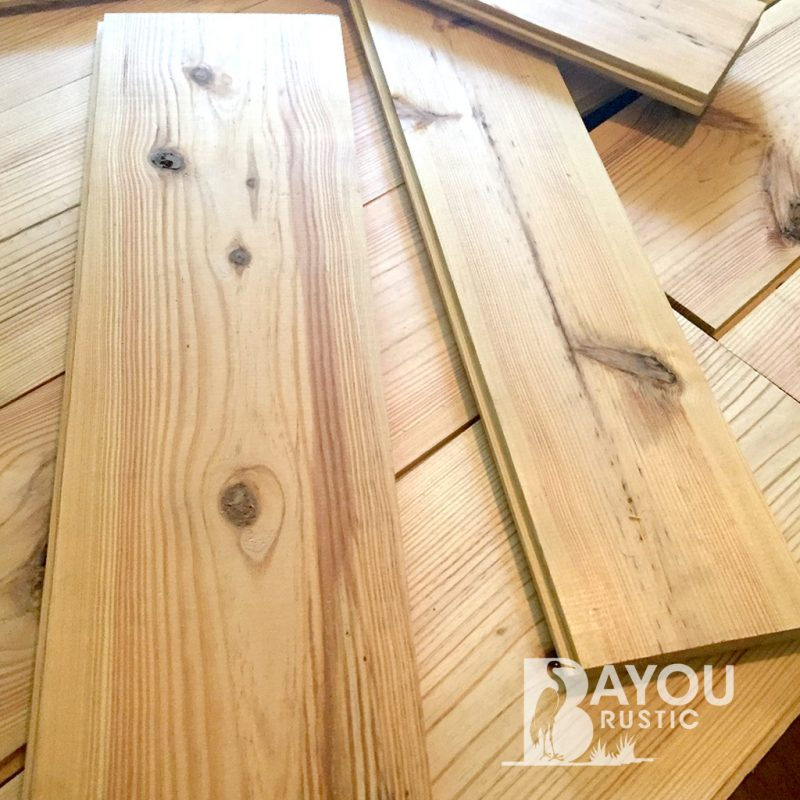 1×10″ Southern Yellow Pine8-12′ Unfinished Flooring – Character