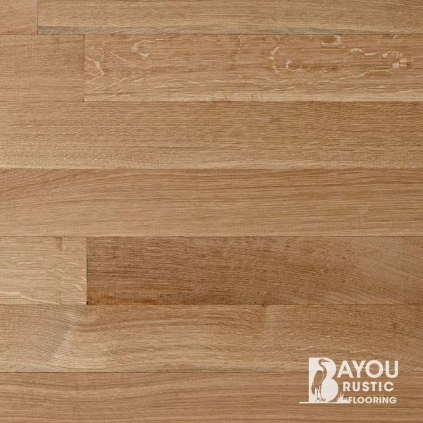 6″ White Oak Unfinished Engineered Flooring (R/Q Select)