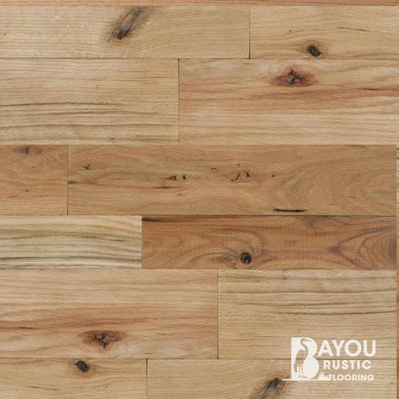 6″ Red Oak 1′-7′ Unfinished Flooring (#2 Common) T/G