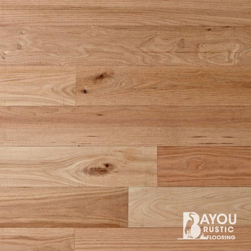 6″ Red Oak 2′-10′ Unfinished Flooring (Character) T/G