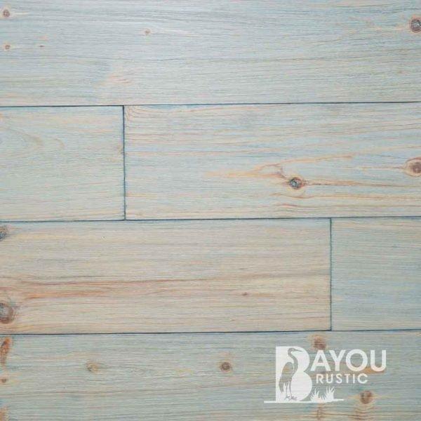 "Caribbean Heart Pine- Monocoat by Rubio ""Biloxi Blue"""