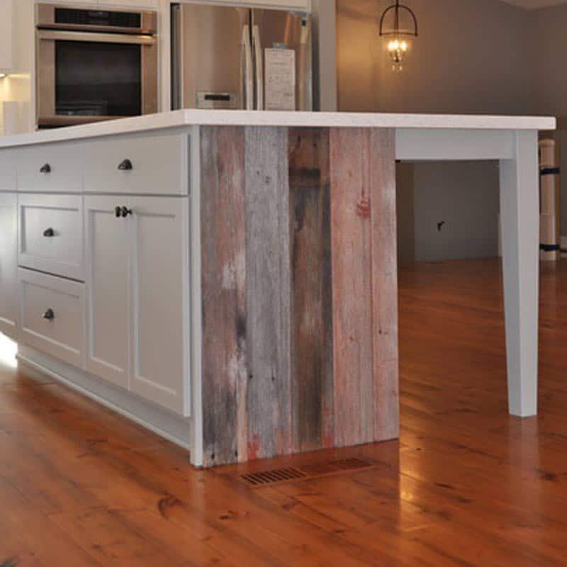5″ Character Heart Pine Prefinished Flooring – Baton Rouge